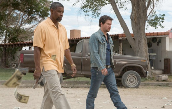 2 Guns - First Look - Denzel Washington and Mark Wahlberg