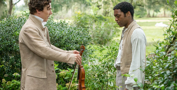 Chiwetel Ejiofor & Benedict Cumberbatch in 12 Years a Slave