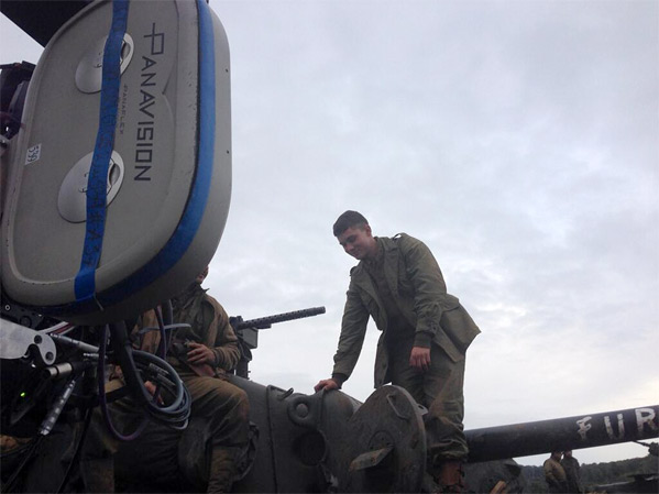 David Ayer's Fury Behind-the-Scenes Twitter