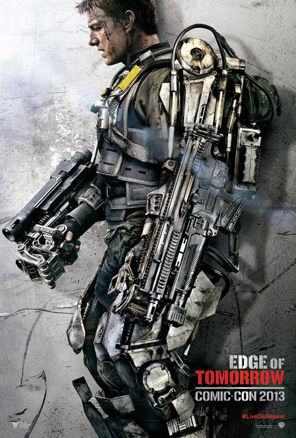 Edge of Tomorrow Tom Cruise Poster