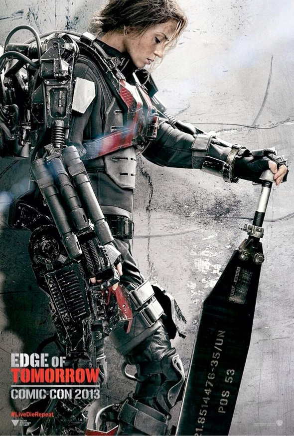 Edge of Tomorrow Emily Blunt Poster