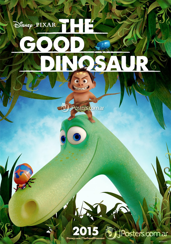 Pixar's The Good Dinosaur Poster