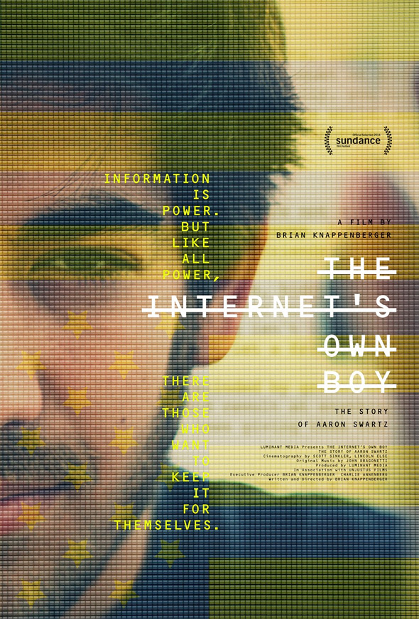 The Internet's Own Boy: The Story of Aaron Swartz Documentary Poster