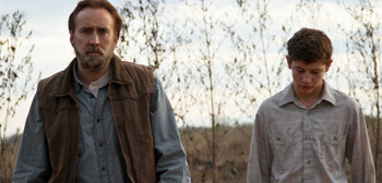 Nic Cage & Tye Sheridan in David Gordon Green's Joe