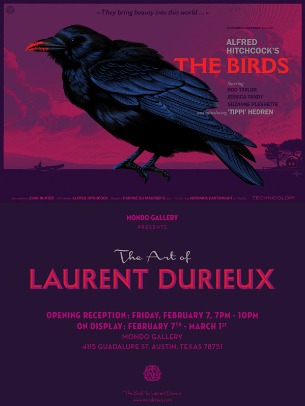 The Birds - Laurent Durieux Mondo
