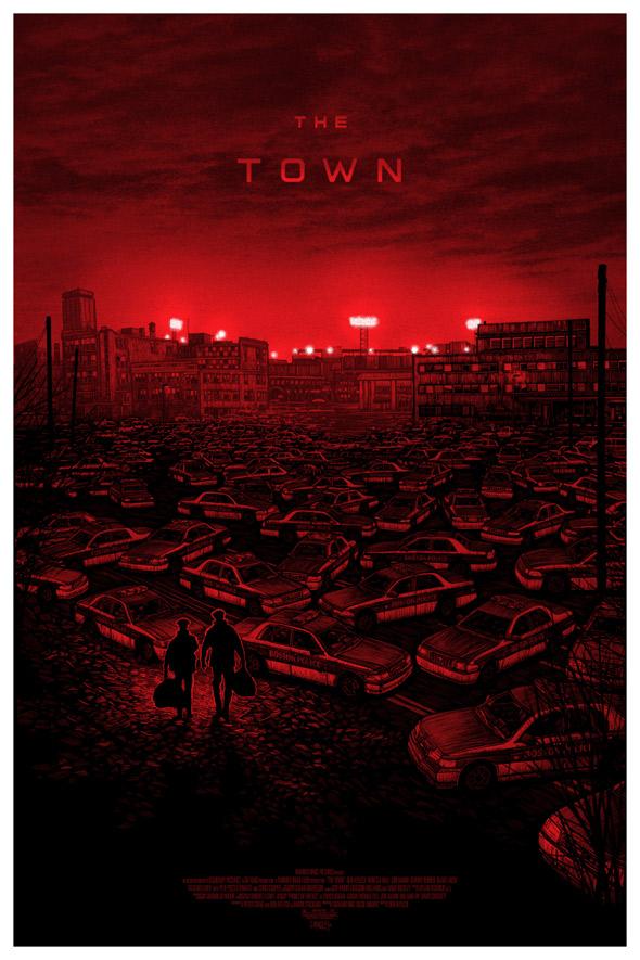 Mondo The Town Poster Art