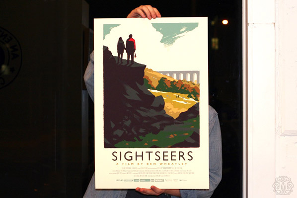 Mondo - Sightseers Olly Moss