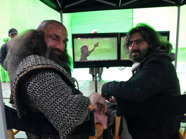 Peter Jackson Hobbit Live Blog Photo