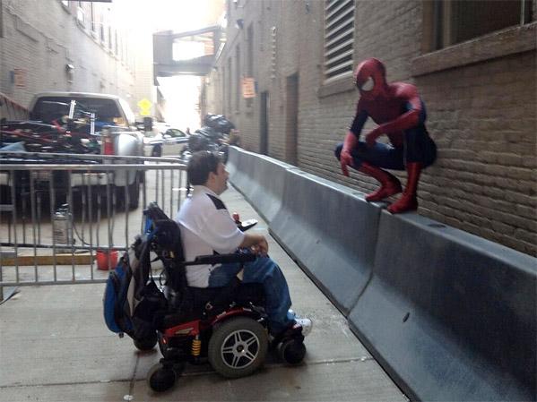 The Amazing Spider-Man 2 Marc Webb Photo