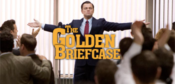 The Golden Briefcase - The Wolf of Wall Street