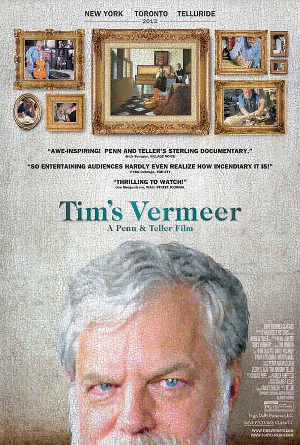 Tim's Vermeer Poster - Directed by Teller