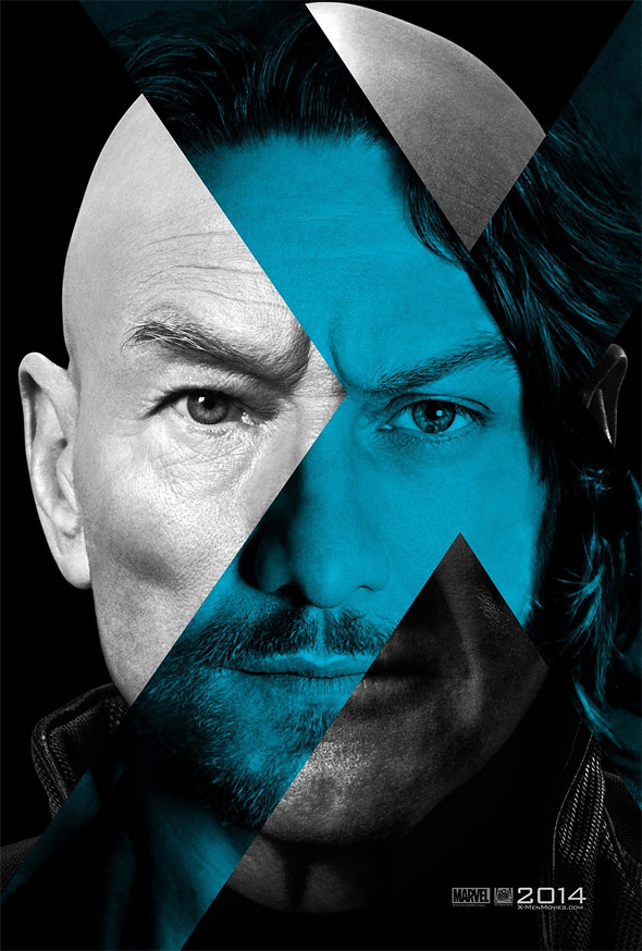 X-Men Days of Future Past Teaser Poster - Professor X