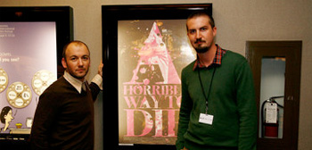 Adam Wingard and Simon Barrett
