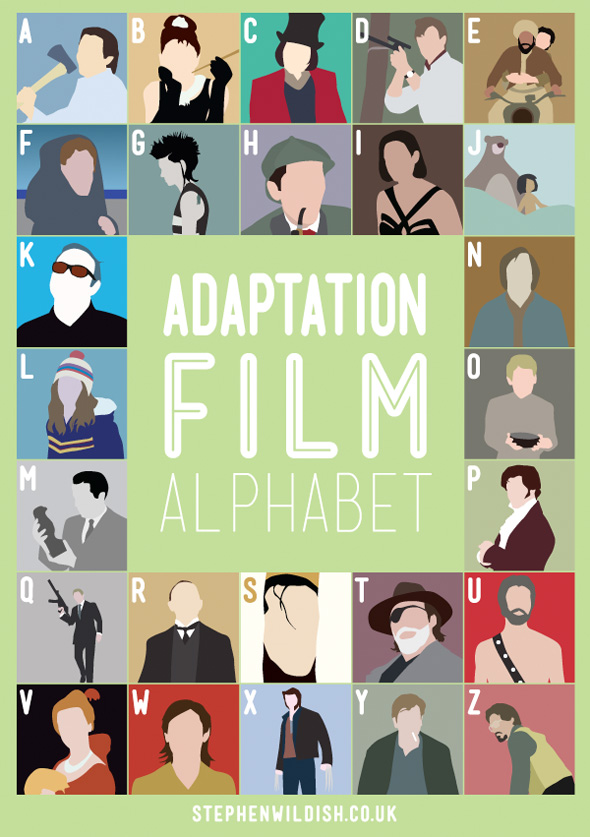 The Adaptation Film Alphabet