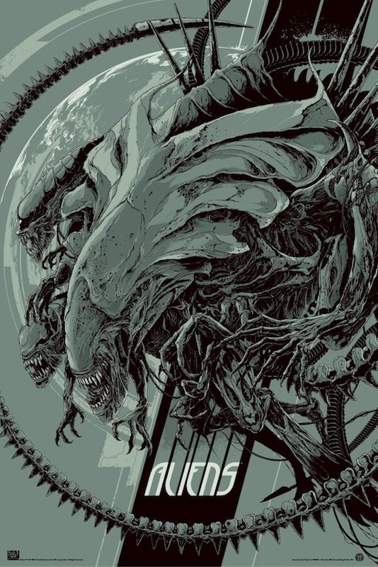 Mondo Art - Aliens by Ken Taylor