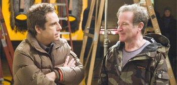 Ben Stiller and Robin Williams