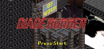Blade Runner 8-Bit Video Game