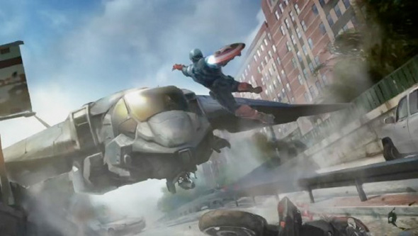 Captain America: The Winter Soldier - Concept Art