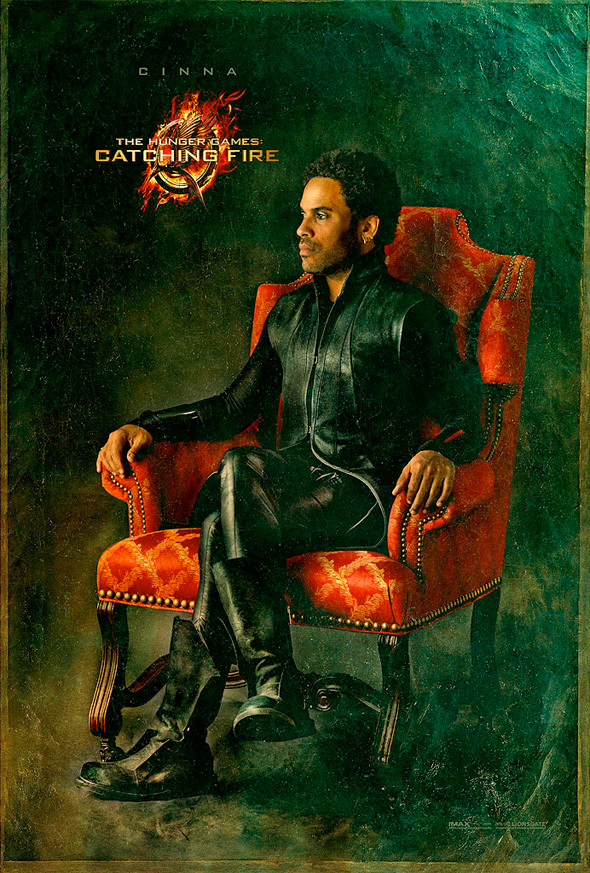 The Hunger Games: Catching Fire - Cinna Portrait Poster