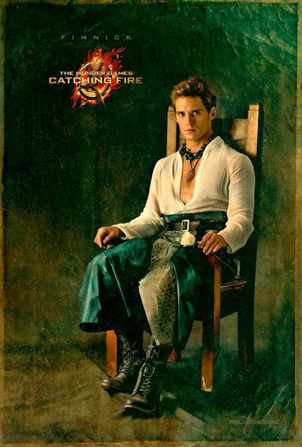 The Hunger Games: Catching Fire - Finnick Portrait Poster