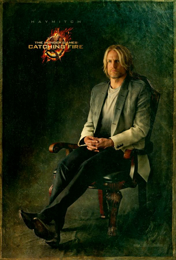 The Hunger Games: Catching Fire - Haymitch Portrait Poster