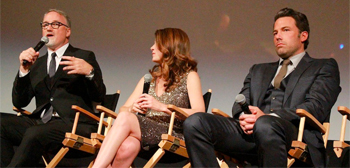 David Fincher, Ben Affleck & Gillian Flynn