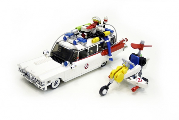 Ghostbusters LEGO Ecto Vehicles