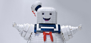 Ghostbusters Stay Puft LEGO