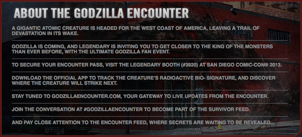 Godzilla Encounter