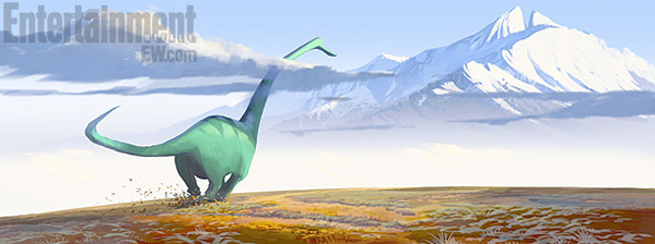 Pixar's The Good Dinosaur Concept Art