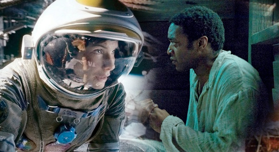 Gravity / 12 Years a Slave