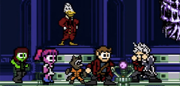 Guardians of the Galaxy 8-Bit Cinema