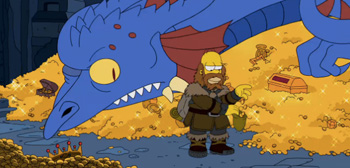 The Simpsons Do The Hobbit