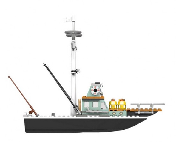 Jaws LEGO Set