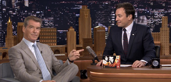 Pierce Brosnan & Jimmy Fallon