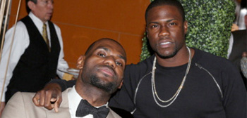 Kevin Hart / LeBron James