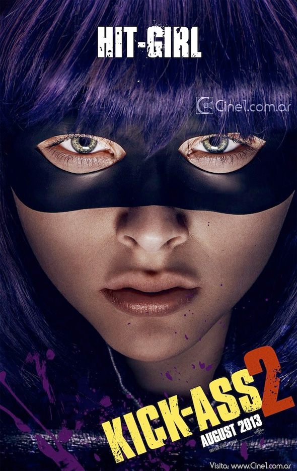 Kick-Ass 2 - Hit Girl Poster