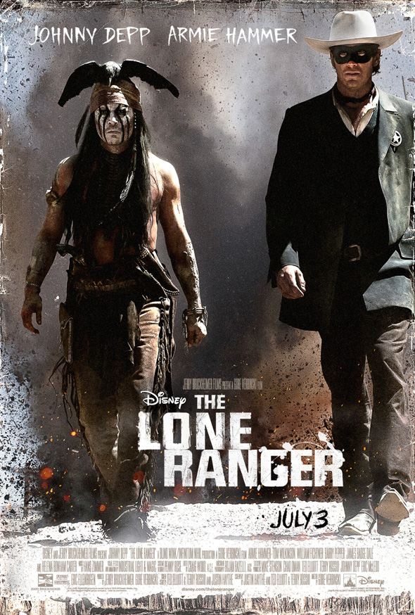The Lone Ranger - Second Poster