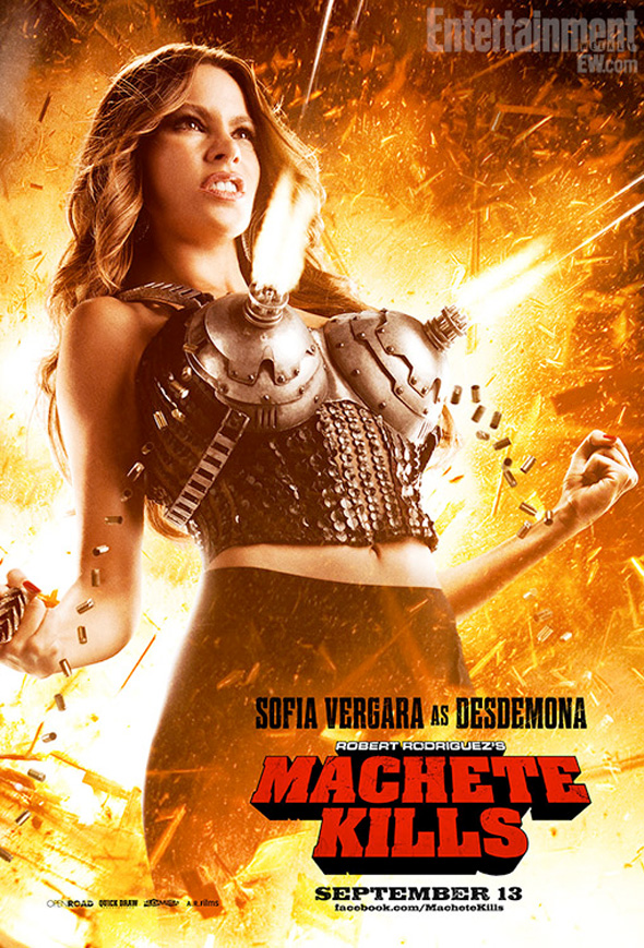 Machete Kills - Sofia Vergara Poster