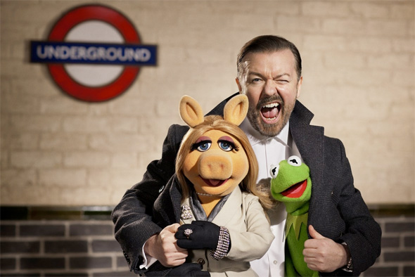 The Muppets...Again! First Look - Train Station