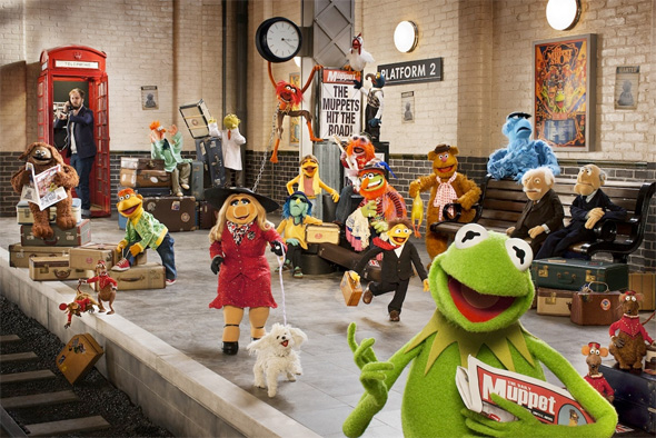 The Muppets...Again! First Look - Ricky Gervais
