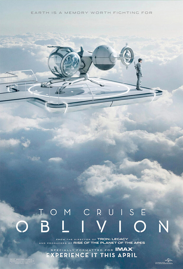 Oblivion - IMAX Poster