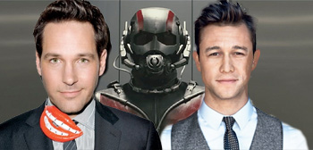 Paul Rudd / Ant-Man / Joseph Gordon-Levitt