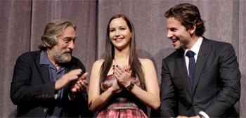 Robert De Niro, Jennifer Lawrence & Bradley cooper