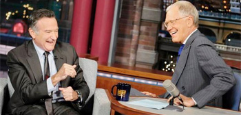 Robin Williams & David Letterman