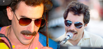 Sacha Baron Cohen / Freddie Mercury