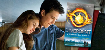 Shailene Woodley and Miles Teller / Divergent