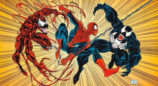 Venom, Carnage, Spider-Man