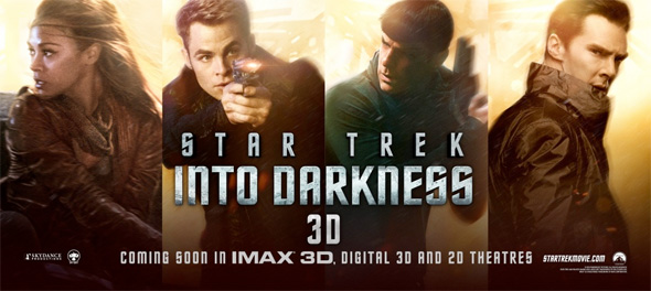Star Trek Into Darkness - Banner