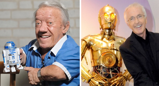 Kenny Baker / Anthony Daniels